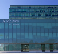 Archives of Ontario & York University Tower