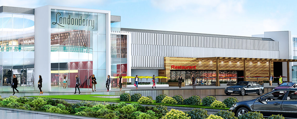 Londonderry Mall Renovations Phase 1