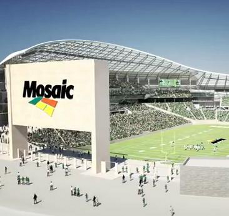 Roughriders' Mosaic Stadium