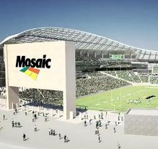 Roughriders' Mosaic Stadium
