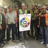 Integrated Modern Niagara Team at Work on Ottawa's Light Rail Transit, Parliament Station